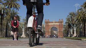 El servicio Bicing se ha convertido en una buena alternativa al transporte público.