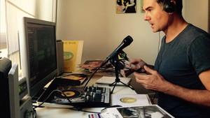 Jaime Cristóbal, responsable de un podcast musical desde el 2005