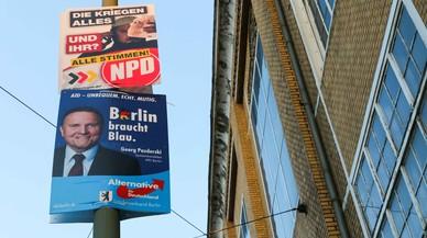 Berlín es prepara per a un nou èxit electoral de la ultradreta