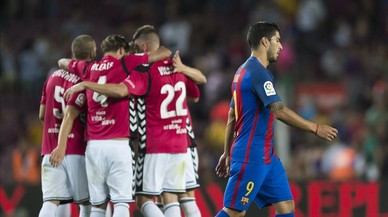 El Barça fa un pas enrere
