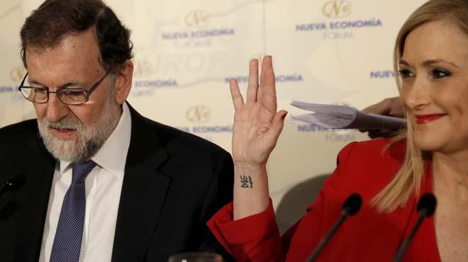 La presidenta madrileña vuelve a proclamar su inocencia.