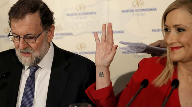 La presidenta madrilenya torna a proclamar la seva innocència.