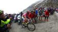 Contador pateix per guanyar el Giro com un campió