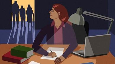 Mujeres haciendo tesis