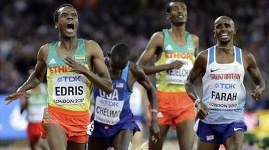 L'etíop Edris humanitza Farah