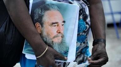 Les imatges del dol a Cuba per la mort de Fidel Castro