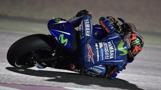 Maverick Viñales (Yamaha) dominó ayer el segundo día de test en Doha (Catar).