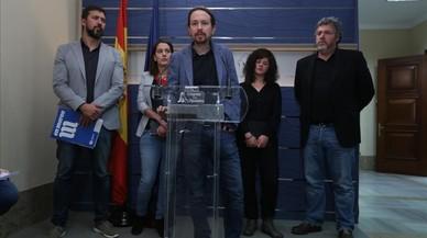 Podem aprueba ir al 21-D en coalición con Catalunya en Comú