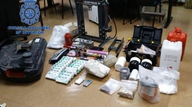 La Policía desarticula un grupo de narcos con escondite en Madrid y Getafe