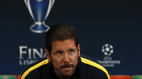 Simeone confia a recuperar Diego Costa per a la final de la Champions