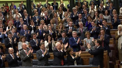 La investidura de Rajoy millora lleugerament la percepció sobre la situació política