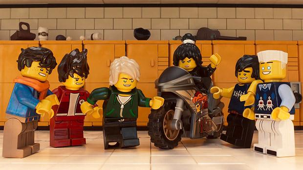 'La Lego Ninjago película': y a la tercera fue la vencida