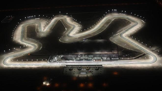 Vista aérea del circuito de Losail, en Doha (Catar).