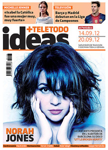 Norah Jones, portada de 'Ideas+Teletodo'.