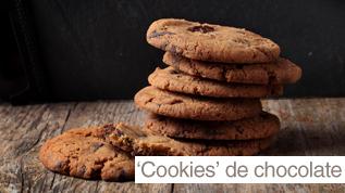 'Cookies' de chocolate