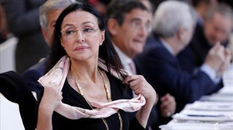 Esther Koplowitz, en un almuerzo informativo en Madrid, en noviembre del 2013.