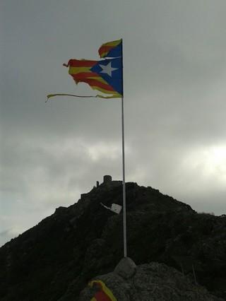 Estado en el que ha quedado la bandera.