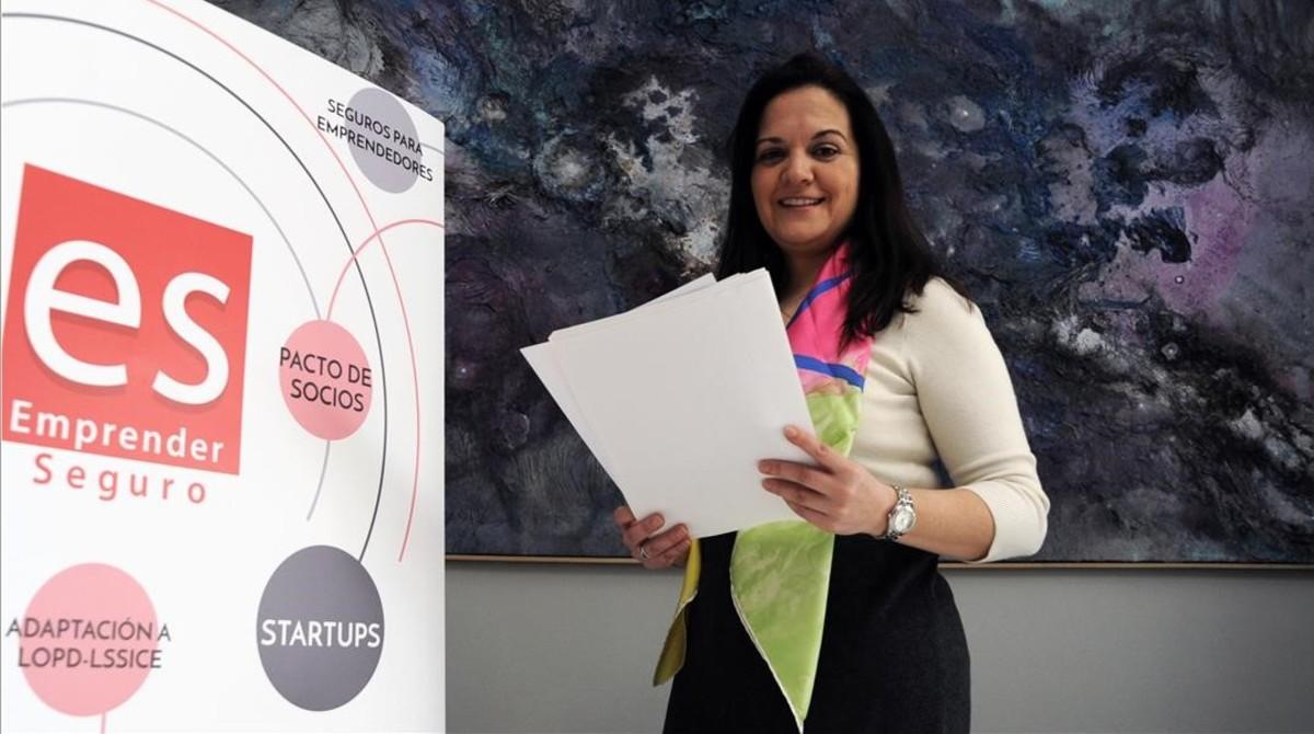ECONOMIA Maria Isalbel Gámez fundadora de emprender Seguro