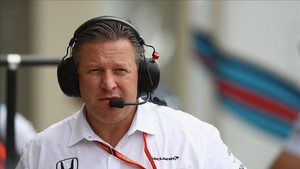 Zak Brown, jefe de McLaren