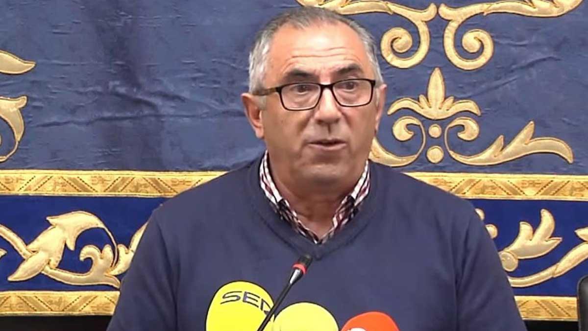 Declaraciones del alcalde del municipio sevillano de Pedrera.
