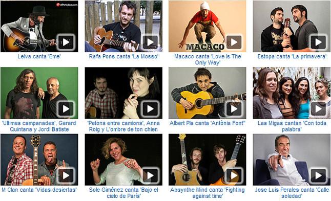Los mejores acústicos del 2012 en EL PERIÓDICO