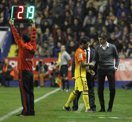 Alves estará entre 15 y 20 días de baja