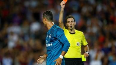 El TAD ratifica la sanción de cinco partidos a Cristiano Ronaldo
