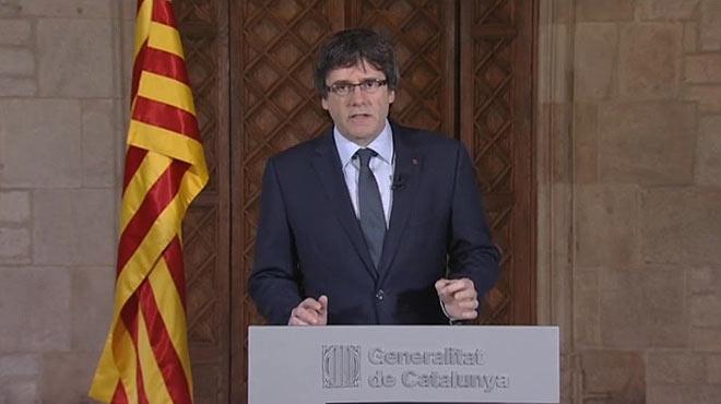 """Puigdemont, sobre el judici del 9-N: """"Avui molts ens sentim jutjats"""""""