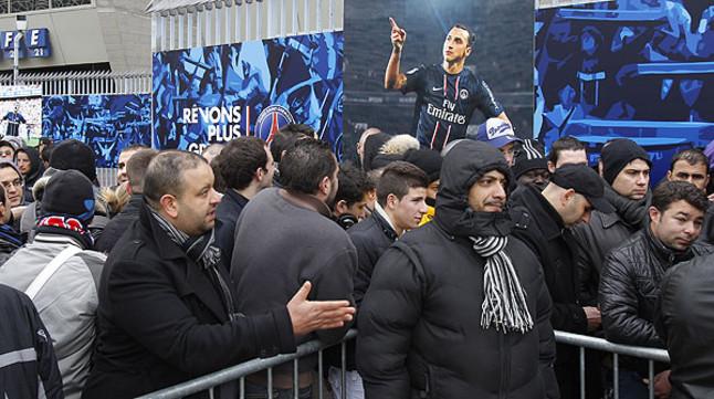 Agotadas las entradas del PSG-Barça