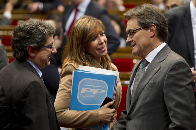Millo pide a Mas que comparezca en el Parlament por el caso de Lloret