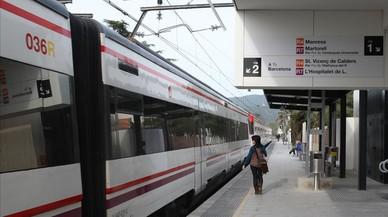 Montcada acusa Foment i Adif de l'últim atropellament mortal de tren