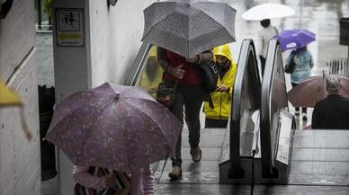 Arriben les pluges a Catalunya
