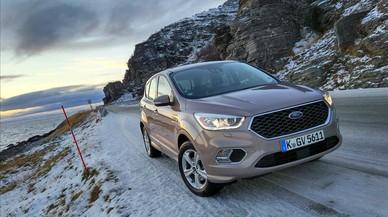 El nuevo Ford Kuga Vignale con cambios en la parrilla. Autor: Telva Somoza