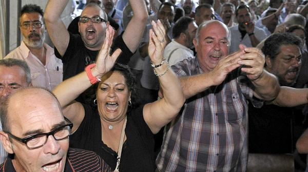 El TSJA critica els insults dels sindicalistes contra la jutge dels ERO