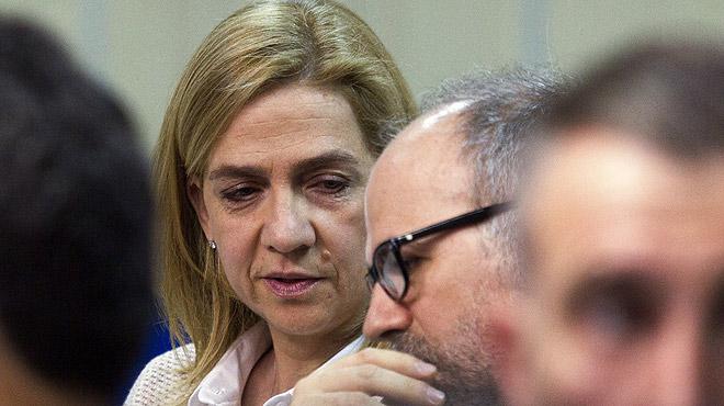Manos Limpias manté la seva petició de vuit anys de presó per a la infanta Cristina