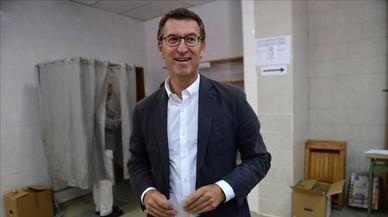 Feijóo revalida la majoria absoluta a Galícia, segons les enquestes a peu d'urna