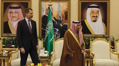 El viatge del Rei a l'Aràbia Saudita divideix el Congrés