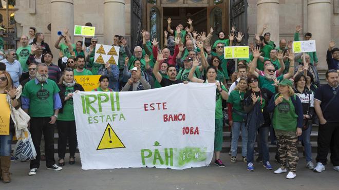 Els afectats per l'índex hipotecari IRPH reclamen a l'Audiència que unifiqui la doctrina
