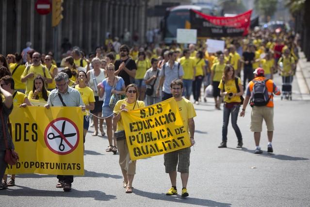 Empieza una semana de movilizaciones contra la reforma educativa de Wert