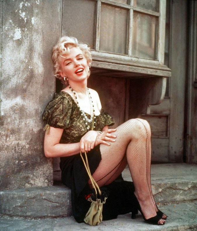 Marilyn Monroe, embarazada en unas fotos inéditas subastadas en Hollywood