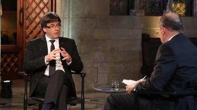 Puigdemont domina a TV-3