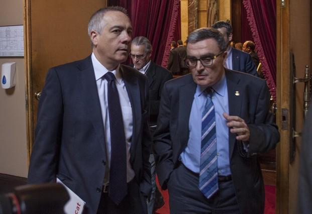 Ros apoya la declaración soberanista en el Ayuntamiento de Lleida