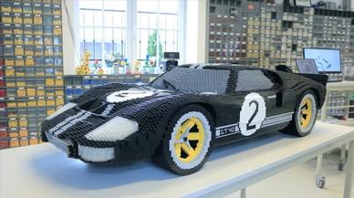 Réplica de LEGP del Ford GT40, ganador de las 24 horas de Le Mans hace 50 años