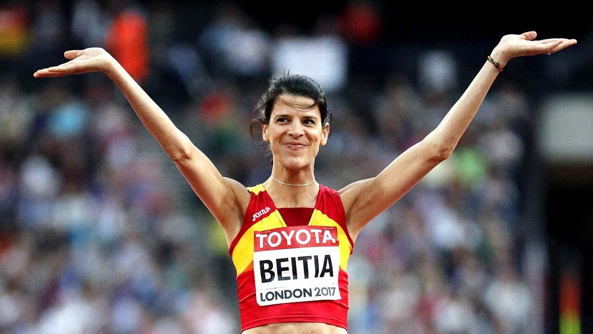 Ruth Beitia: campeona olímpica de salto de altura