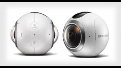 Así es la cámara de realidad virtual Gear 360 de Samsung