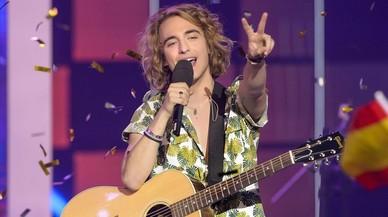 El músico catalán Manel Navarro, representante de TVE en el próximo Festival de Eurovisión.