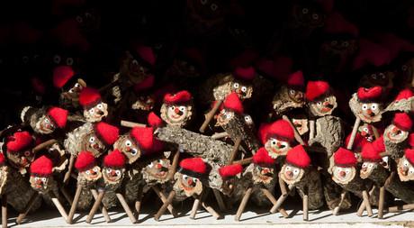 Foto de archivo de 'tions' de Navidad.