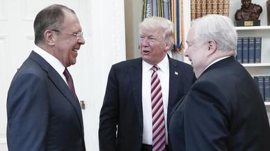 Trump está muy enfadado y Putin se parte de risa