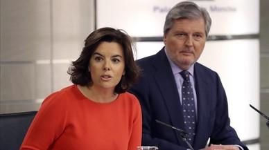 El Gobierno recurrirá ante el TC la ley catalana de compraventa