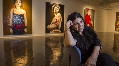 """Lita Cabellut: """"No creo que sea más grotesca que la propia vida"""""""